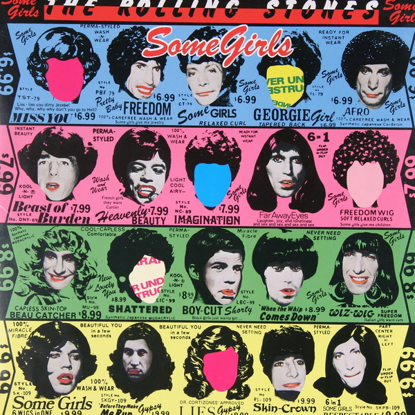 Rolling Stones Rolling Stones - Some Girls лонгслив printio voldemort x rolling stones