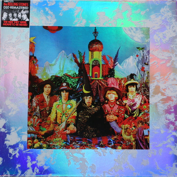 Rolling Stones Rolling Stones - Their Satanic Majesties Request лонгслив printio voldemort x rolling stones