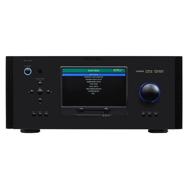 AV процессор Rotel RSP-1582 Black av ресивер rotel rap 1580 black