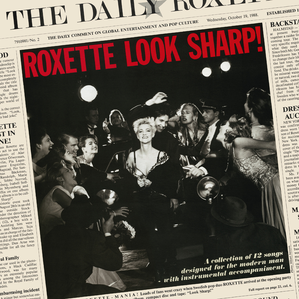 Roxette Roxette - Look Sharp! (30th Anniversary) (colour) roxette per gessle