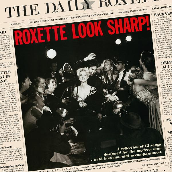 Roxette - Look Sharp! (limited, Colour) (уценённый Товар)