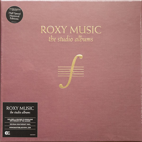 цена на Roxy Music Roxy Music - The Complete Studio Albums (8 Lp Box)
