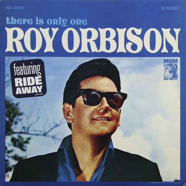 Roy Orbison Roy Orbison - There Is Only One (usa Original. 1st Press) (винтаж)