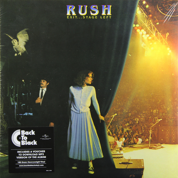 RUSH RUSH - Exit… Stage Left (2 Lp, 180 Gr) ollin professional зажимы алюминиевые 55 мм 100 шт