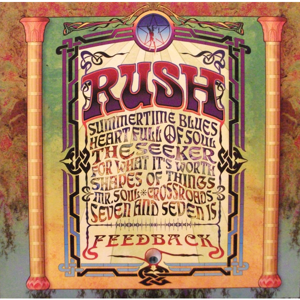 RUSH RUSH - Feedback (200 Gr) rush rush all the world s stage 2 lp 180 gr