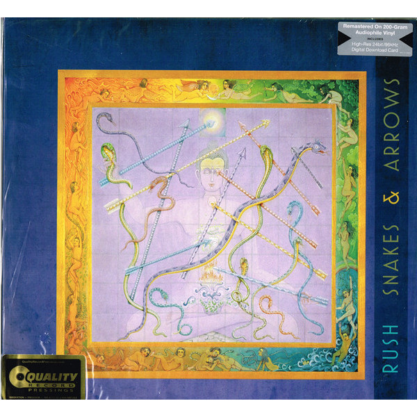 RUSH RUSH - Snakes Arrows (2 LP) rush rush rush limited edition lp