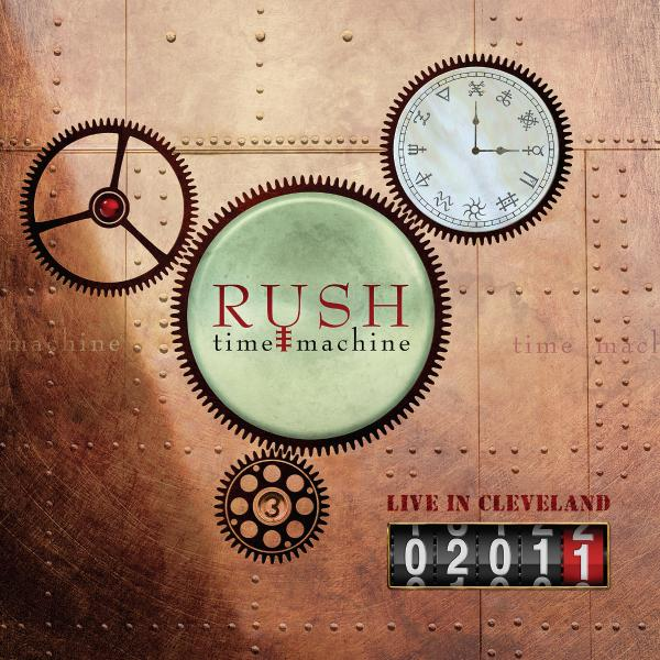 RUSH - Time Machine 2011: Live In Cleveland (4 Lp, 180 Gr)