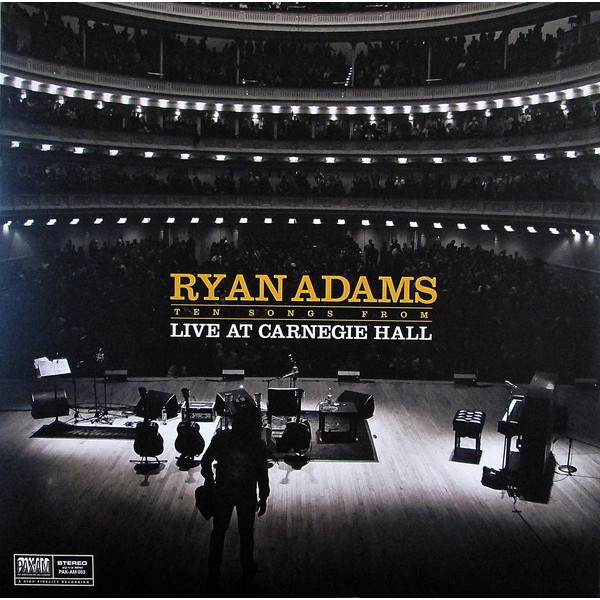 Ryan Adams Ryan Adams - Ten Songs From Live At Carnegie Hall ryan fitzpatrick autographed hand signed buffalo bills 8x10 photo