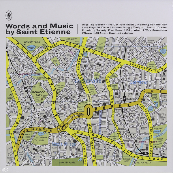 Saint Etienne Saint Etienne - Words And Music By Saint Etienne saint etienne casino classics deluxe edition 2 cd