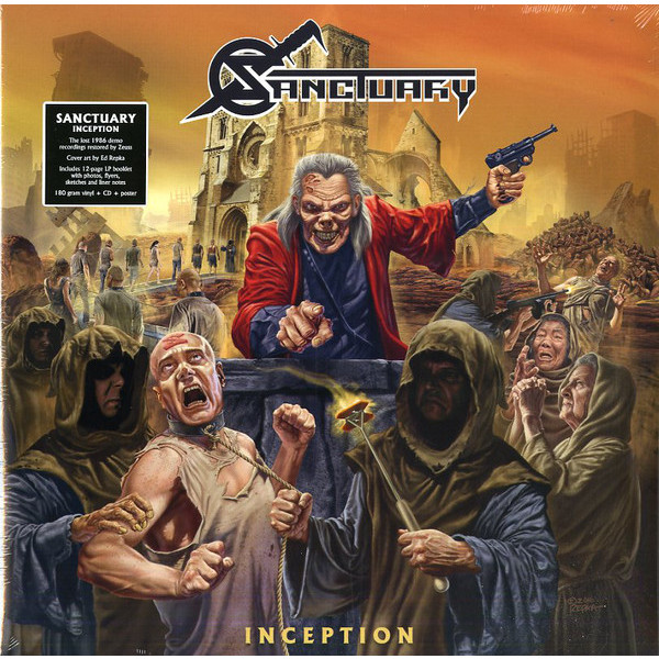 Sanctuary Sanctuary - Inception (lp+cd) vildhjarta vildhjarta masstaden lp cd