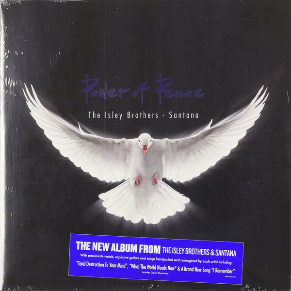 цена на Santana Santana Isley Brothers - Power Of Peace (2 LP)