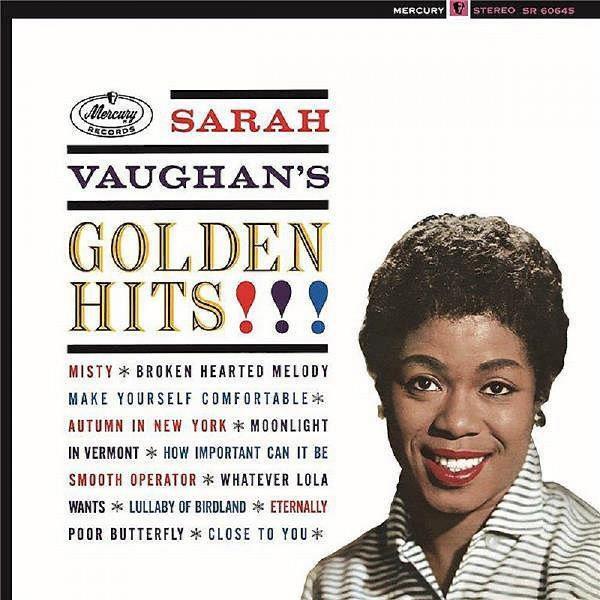 Sarah Vaughan Sarah Vaughan - Golden Hits (colour) sarah weeks honey