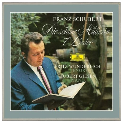 Schubert Schubert - Die Schone Mullerin, 7 Lieder (2 LP) schubert schubert the great c major symphony 2 lp 180 gr