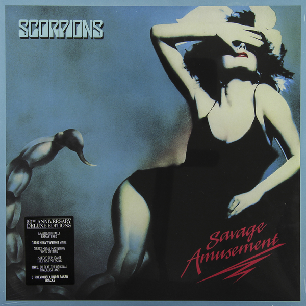 Scorpions Scorpions - Savage Amusement (50th Anniversary Deluxe Edition) cd scorpions taken by force 50th anniversary deluxe edition