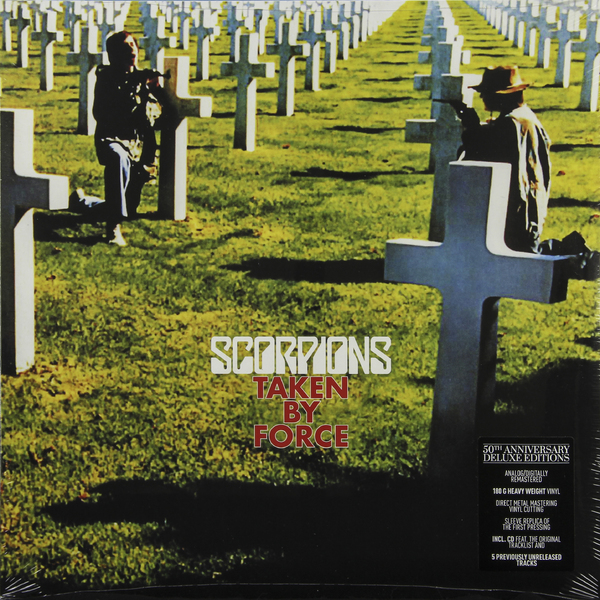 Scorpions Scorpions - Taken By Force (50th Anniversary Deluxe Edition) cd scorpions animal magnestism 50th anniversary deluxe edition