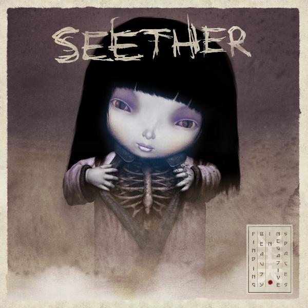 Seether - Finding Beauty In Negative Spaces (colour, 2 LP)