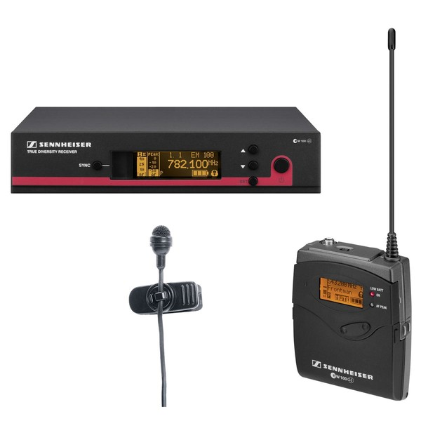 Радиосистема Sennheiser EW 122-G3-A-X микрофон sennheiser em4035 ew185 g3