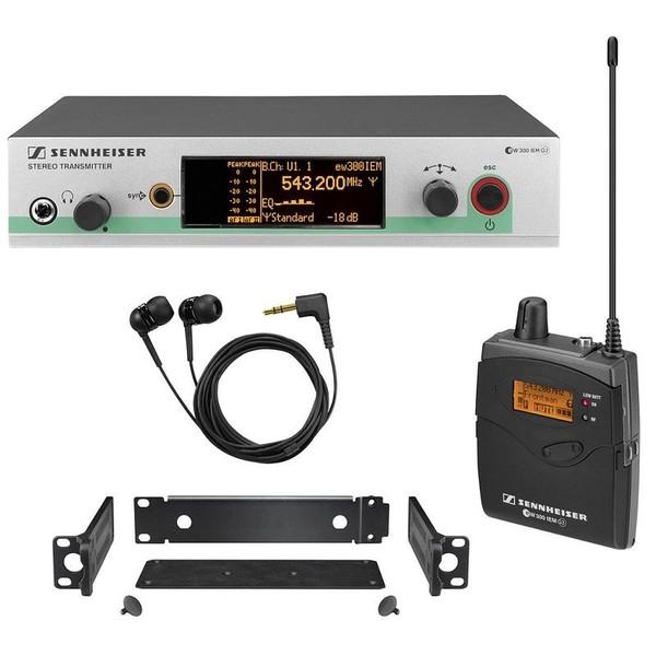 Система персонального мониторинга Sennheiser EW 300-IEM-G3-G-X радиосистема sennheiser ew 145 g3 a x