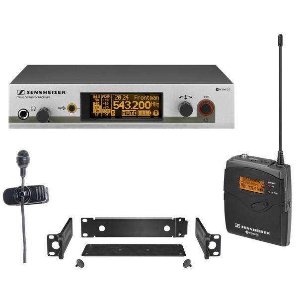 Радиосистема Sennheiser EW 322 G3-B-X микрофон sennheiser em4035 ew185 g3