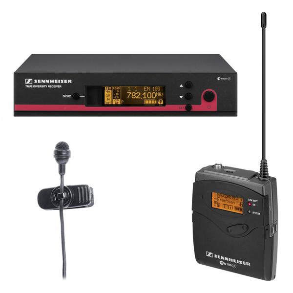 Радиосистема Sennheiser EW 122 G3-B-X микрофон sennheiser em4035 ew185 g3