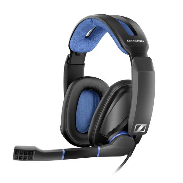 Фото - Охватывающие наушники Sennheiser Игровые наушники с микрофоном GSP 300 Black/Blue наушники crown cmh 209t black