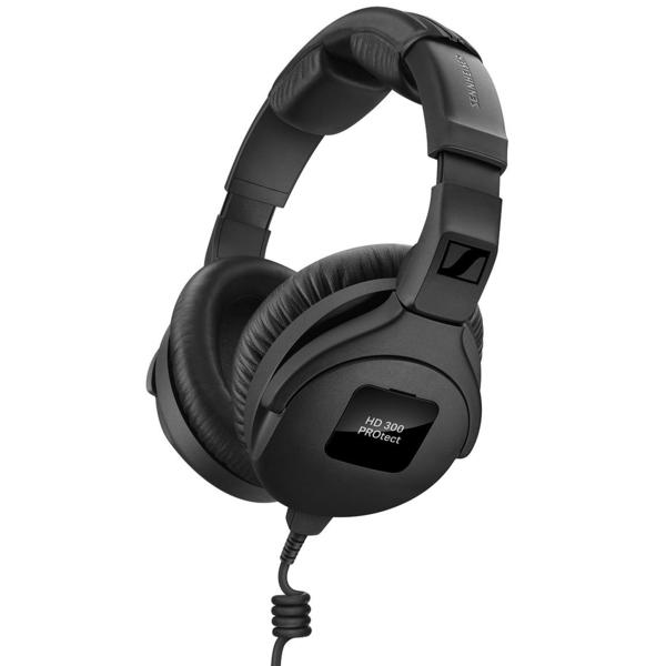 Охватывающие наушники Sennheiser HD 300 PROtect Black охватывающие наушники sennheiser hd 280 pro black