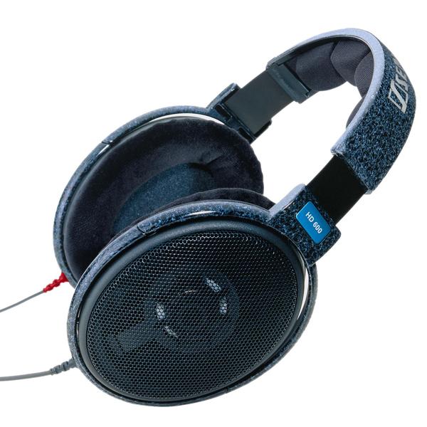 Охватывающие наушники Sennheiser HD 600 Blue охватывающие наушники sennheiser hd 700 black