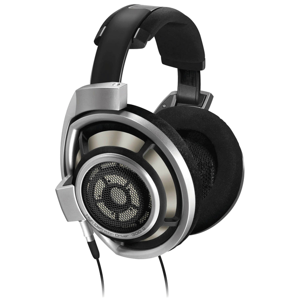Охватывающие наушники Sennheiser HD 800 Silver/Black охватывающие наушники sennheiser hd 800 s black
