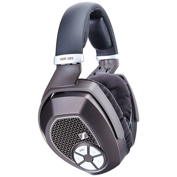 Беспроводные наушники Sennheiser Дополнительные беспроводные наушники HDR 185 Black cndst cctv sony ccd black and white mini square camera low lux 22x22mm 480tvl 600tvl mini b w industrial camera 3 6mm board lens
