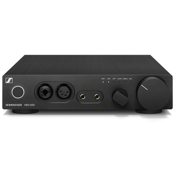 Усилитель для наушников Sennheiser HDV 820 Black hdv e50d dual ir control hdmi extenders receiver transmitter kit black