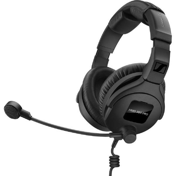 Охватывающие наушники Sennheiser HMD 300 PRO Black (уценённый товар) охватывающие наушники sennheiser hmd 300 pro black