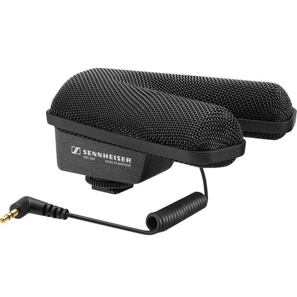 Микрофон для радио и видеосъёмок Sennheiser MKE 440 микрофон для радио и видеосъёмок sennheiser mke 440