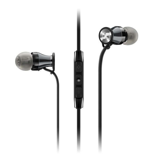 Внутриканальные наушники Sennheiser Momentum M2 IEi Black Chrome гарнитура sennheiser momentum in ear m2 iei black red