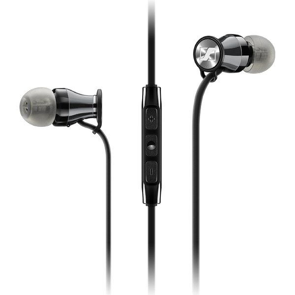 Внутриканальные наушники Sennheiser Momentum M2 IEi Travel Black Chrome sennheiser momentum m2 ieg black chrome
