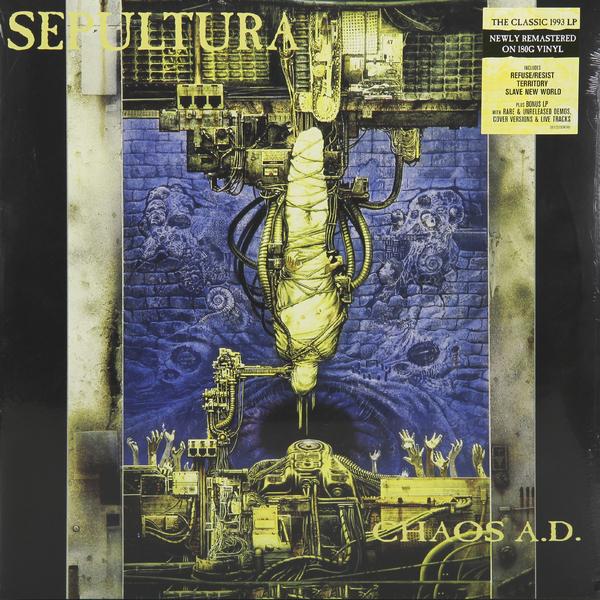 Sepultura Sepultura - Chaos A.d. (2 LP) цены онлайн