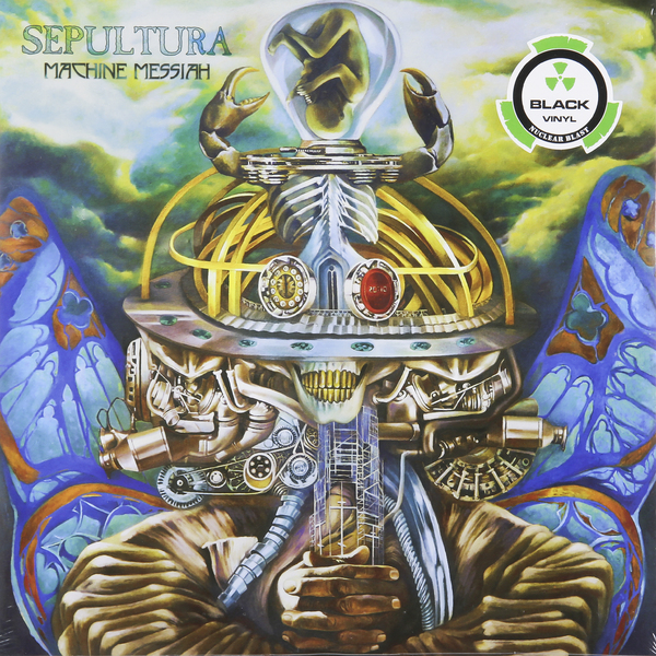 цена Sepultura Sepultura - Machine Messiah (2 LP)