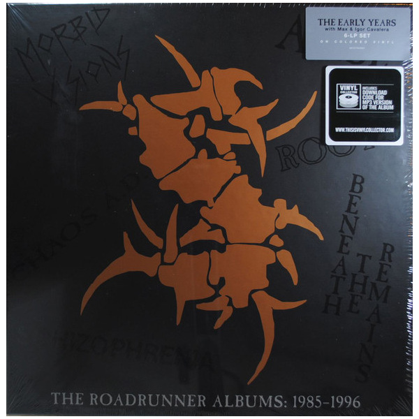 Sepultura Sepultura - The Roadrunner Albums 1985-1996 (6 LP) the who the studio albums 14 lp
