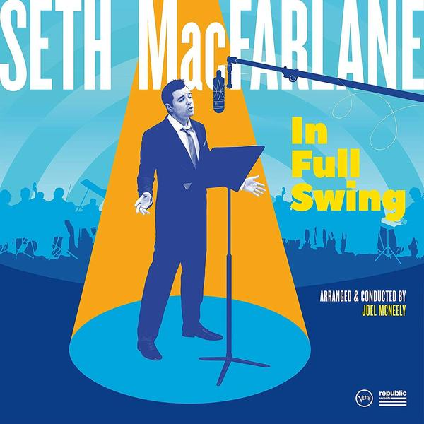 Seth Macfarlane Seth Macfarlane - In Full Swing (2 LP) seth macfarlane ted 8x10 male celebrity photo signed in person