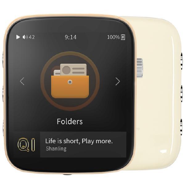 Портативный Hi-Fi плеер Shanling Q1 Creamy White