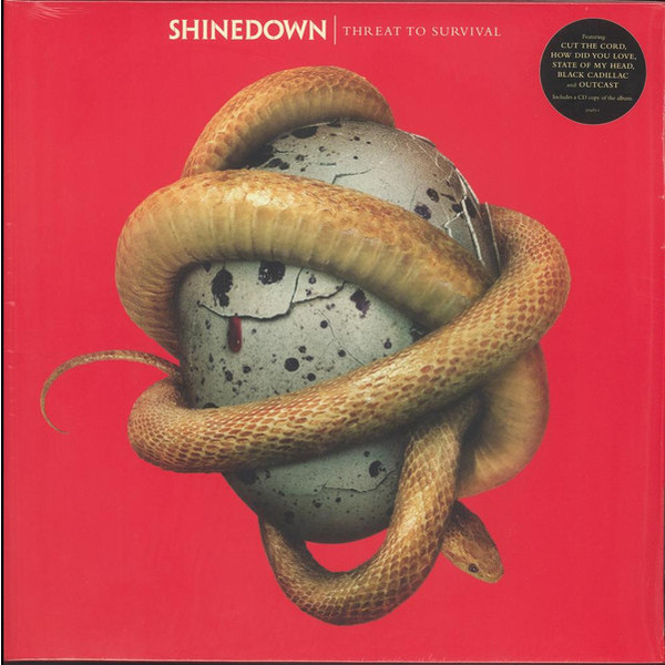Shinedown Shinedown - Threat To Survival (lp+cd) бутсы nike шиповки nike jr tiempox legend vi tf 819191 018