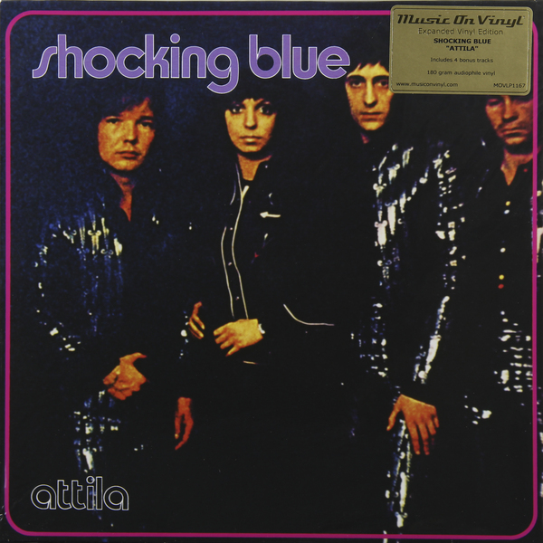 Shocking Blue Shocking Blue - Attila (180 Gr) glory 1109 2015 light blue