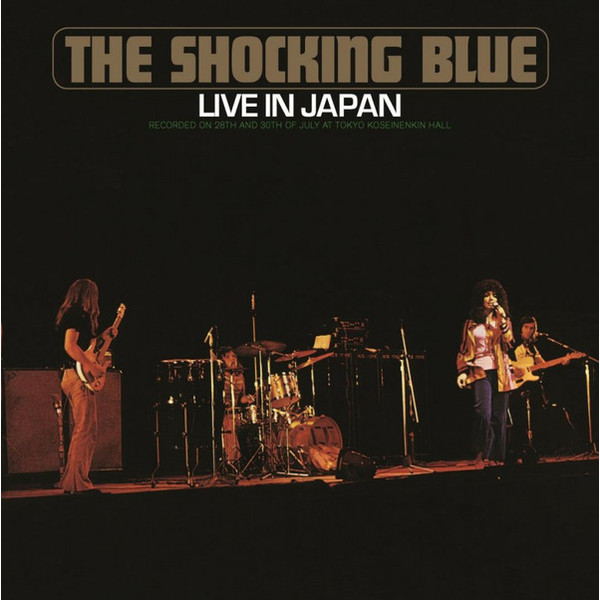 Shocking Blue Shocking Blue - Live In Japan футболка рингер printio shocking blue