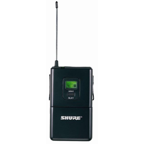 Передатчик для радиосистемы Shure SLX1 L4E 638 - 662 MHz shure cvb w o