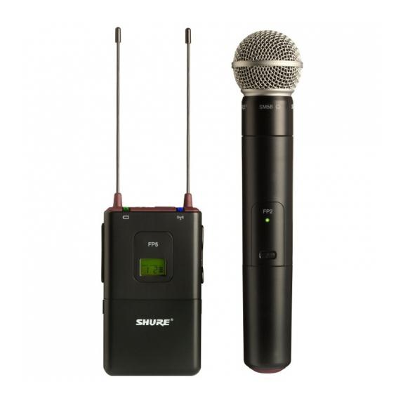 Радиосистема Shure FP25/SM58 L4E 638 - 662 MHz держатель для микрофона shure afp 522