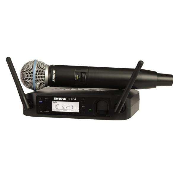 Радиосистема Shure GLXD24E/BETA58A Z2 shure cvb w o