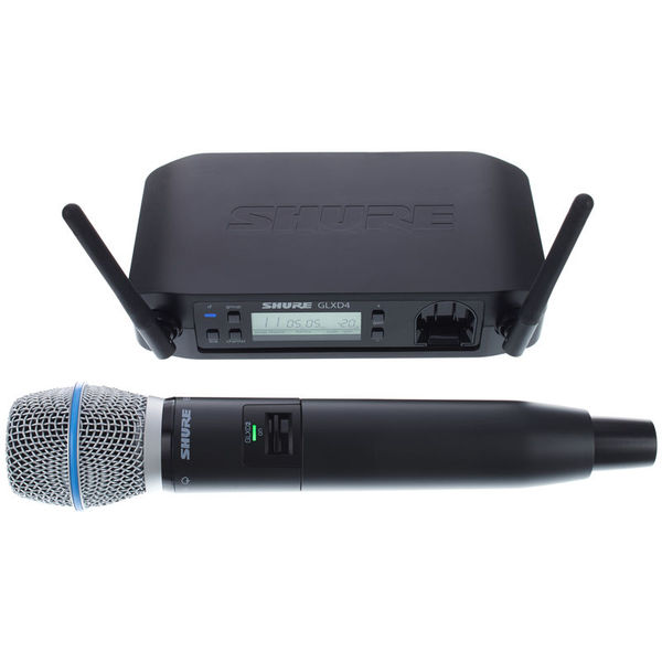 все цены на Радиосистема Shure GLXD24E/BETA87A Z2 онлайн