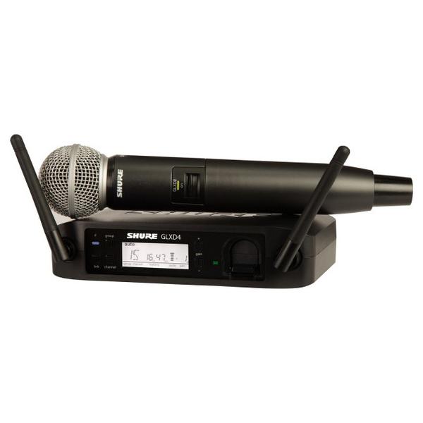 Радиосистема Shure GLXD24E/SM58 Z2 2.4 GHz shure cvb w o