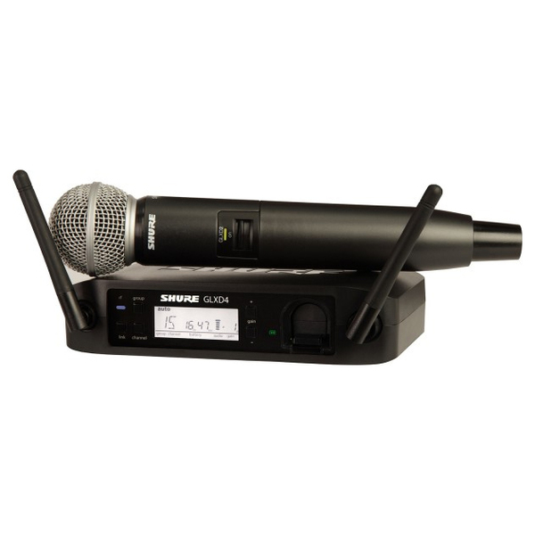 Радиосистема Shure GLXD24E/SM58 Z2 2.4 GHz shure blx24re sm58 k3e