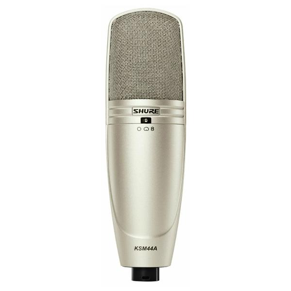 Студийный микрофон Shure KSM44A/SL студийный микрофон shure ksm32 cg
