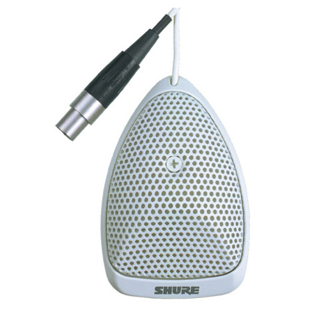 Микрофон для конференций Shure MX391W/O цены онлайн